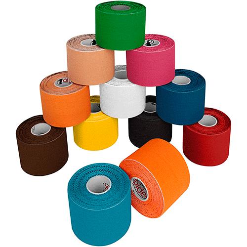 Vendajes de colores kinesiotape